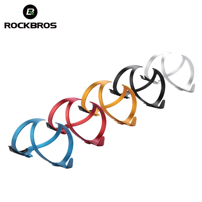 a74c0cccc12 ROCKBROS 3D Bike Water Bottle Holder Cycling Bicycle Water Bottle Cage  Holder 33g Ultralight Aluminium Alloy Bottle Holders
