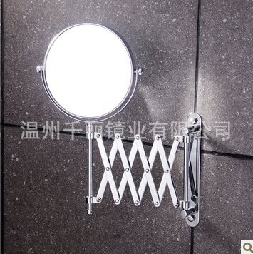 Folding Factory Direct Supply Wholesale Wall Mirror Copper Cosmetic Mirror Beauty Mirror