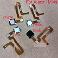 Home key home Button Key With Flex Cable For Xiaomi Mi4S M4S 4S Black/White/Gold/purple