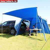 FUWAYDA многоцелевой 5 местный 3 сезонный внедорожник автомобильный тент кровать для кемпинга самоуправляющийся туристический тент Наружная п
