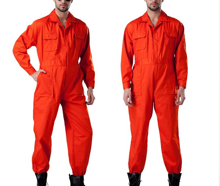 Working Coverall Uniform/overall Uniform For Productionworker Comfortable Cotton Labor Uniforms Workwear Repairman Auto Repair
