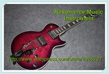 Professionelle Elektrische Gitarre LP Benutzerdefinierte Kopfplatte und Logo Ebenholz Griffbrett Benutzerdefinierte Inlaids China Gitarre Auf Lager