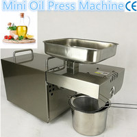 Stainless Steel Home Oil Making Machine Green Food Machine Peanut Sunflower Seed Oil Press Screw Type
