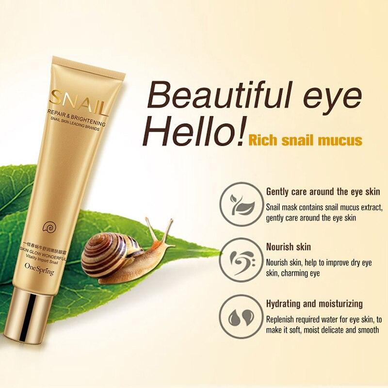 ONE SPRING Elastic Eye cream Anti wrinkles Dark circles remover Moisturizing Firming eye skin Puffiness Potent Repair