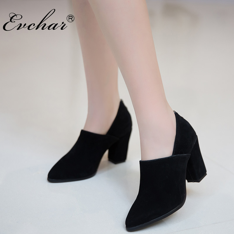 NEw Spring autumn Pumps Sexy Elegant Office Lady Pointed Toe Pumps dress shoes thick High Heels Shoes Woman plus size 32-45 woman shoes high heels brand women pumps tassel fashion office lady dress shoes black spring autumn pointed toe female pumps de