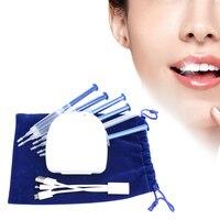 Sistema de Blanqueamiento de Dientes Kit de Blanqueamiento de Dientes 44% de Peróxido de Carbamida 16LED Brillante Sonrisa Blanca Blanqueamiento Dental Kit Oral Gel