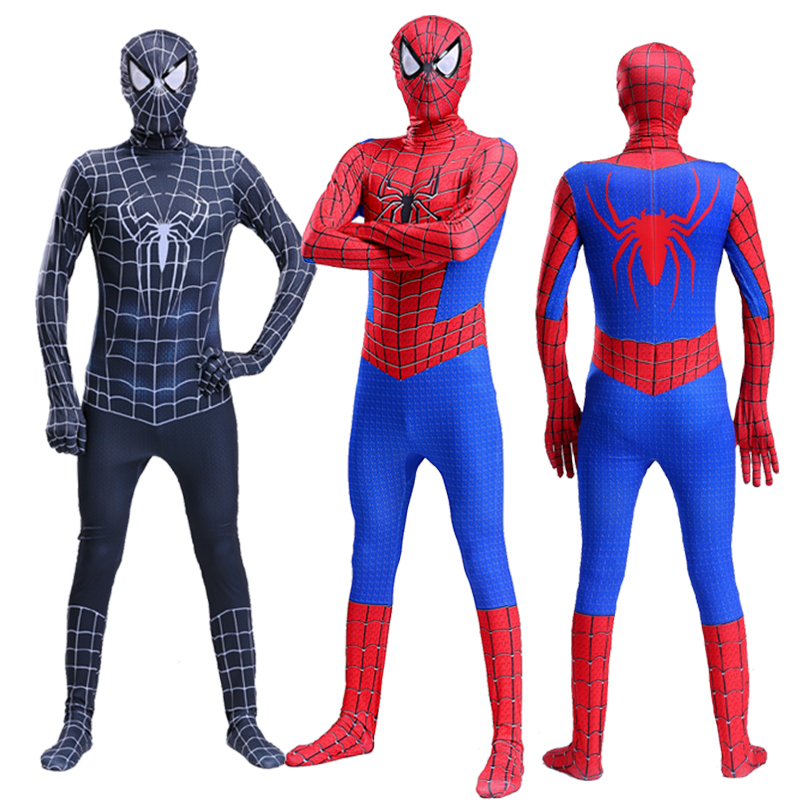 Custom The Amazing iron Spider Man Costume Kids Adult Spandex Adulto 3D Costumes Cosplay Clothing For A Boy Amazing Spiderman