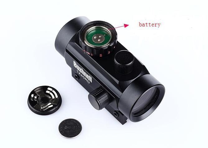 Hot koop 1x40mm 5-Mode rode en groene dot sight riflescope voor jacht - Jacht - Foto 4