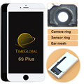 3 шт. oem Alibaba китай клон экран Для iPhone 6 S Plus ЖК-Дисплей Замена Сенсорного Планшета Ассамблея + Камера Кольцо Бесплатные DHL
