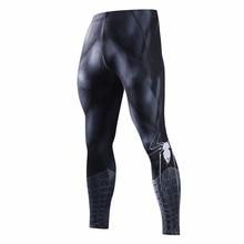 Обтягивающие спортивные штаны для мужчин, компрессионные штаны для мужчин, модные леггинсы для мужчин, для бега, мужские 3D штаны для фитнеса, Супермен, эластичные брюки