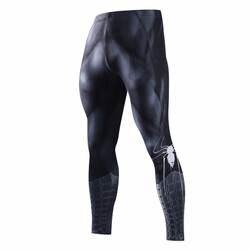 Узкие спортивные брюки для мужчин утягивающие брюки для мужчин модные леггинсы Для мужчин Jogger Для мужчин 3D Фитнес Штаны Супермен ElasticTrousers