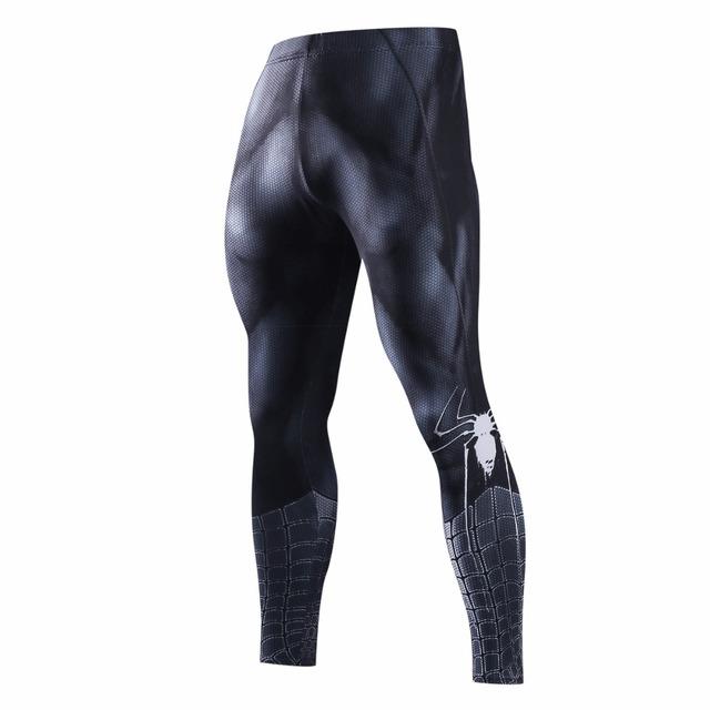 Men's 3D Fitness Compression Leggings