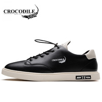 Crocodile Spring Autumn Men Skateboarding Shoes 2018 New Male Leisure Flat Soft Sport Shoes Breathable Outdoors