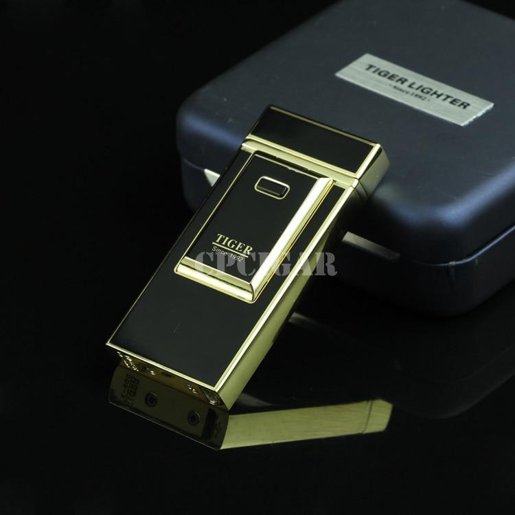 TIGER Windproof Electric Arc USB Charging Cigarette Cigar Lighter LC 96B