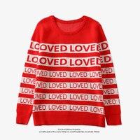 Прямая поставка BTS BANGTANG Мальчики зима Для мужчин Для женщин свитер ДНК СУГА же Стиль любил пуловер Kpop студент любителей свитера в стиле Хара...