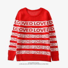 iyaolee Drop Ship Winter Men Women DNA Suga Same Style Loved Pullover Kpop Student