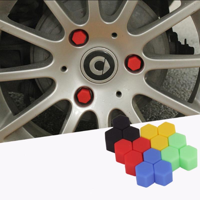 Car Styling 20pcs Silica Caps Hub Screw Protector for KIA Rio K2 K3 K4 K5 KX3 KX5 Cerato,Soul,Forte,Sportage R,Sorento Optima