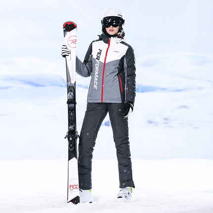 Free Shipping Womens Skiing Outdoor Winter Warm Sport Suits High Experience Ladies  Clothing Ski Jacket Women Skiing Pants