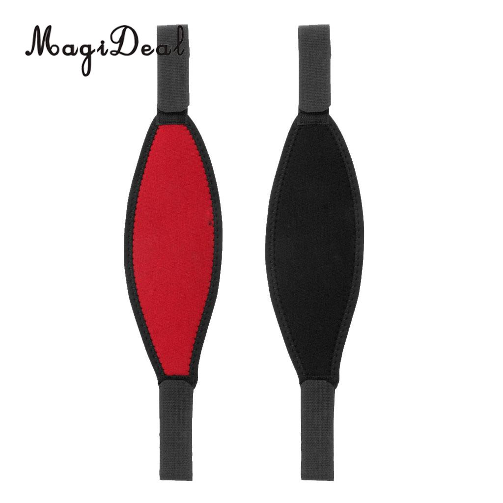2603d43b26 MagiDeal 2 Pieces Soft Neoprene Replacement Scuba Diving Diver Mask Strap  Protector Cover Hair Band -