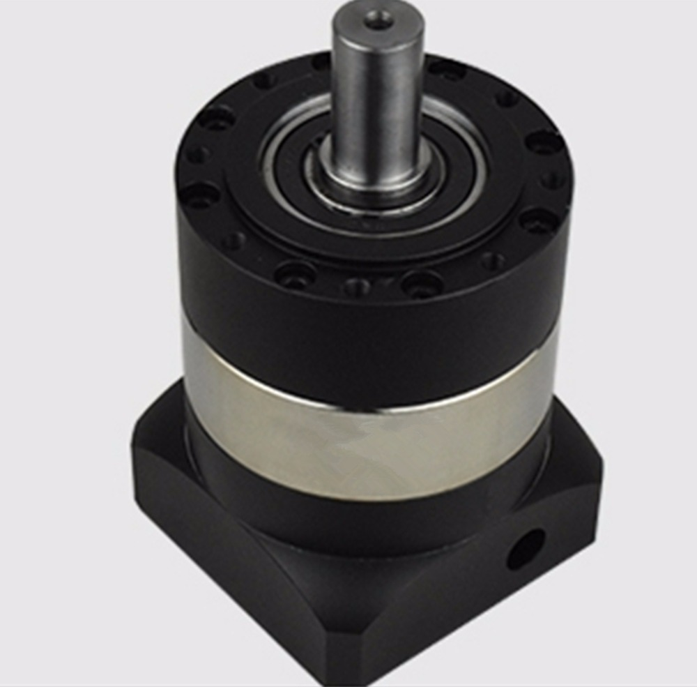 Round flange 90 planetary gear reducer 7 arcmin Ratio 3:1 to 10:1 for nema34 stepper motor input shaft 1/2 inch 12.7mmRound flange 90 planetary gear reducer 7 arcmin Ratio 3:1 to 10:1 for nema34 stepper motor input shaft 1/2 inch 12.7mm