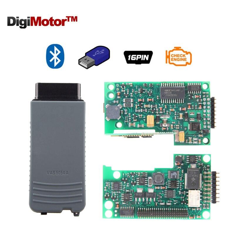 Prix pour VAS 5054A Plein Puce ODIS v4.0.0 avec OKI UDS VAS5054A VAS5054 Bluetooth De Diagnostic-Outil 5054 Auto Diagnostic Scanner