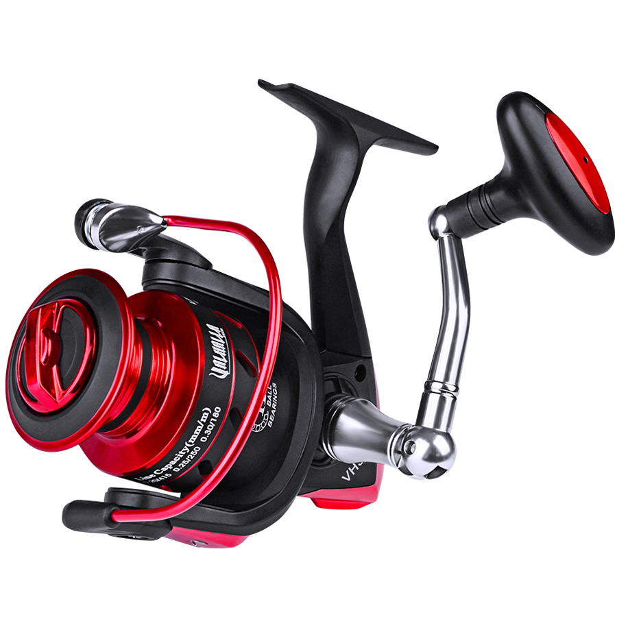 Hot Fishreel Drag Spinning Reel with Large Spool 19KG Max Drag Freshwater 11 1BB Spinning Fishing