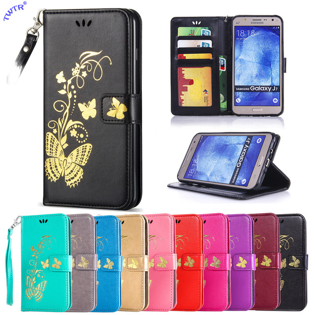 Flip Case for Samsung Galaxy J7 J 7 2015 J700H SM-J700H J700M SM-J700M DS J700F/DS SM-J700F/DS J700F/DH Case Phone Leather Cover
