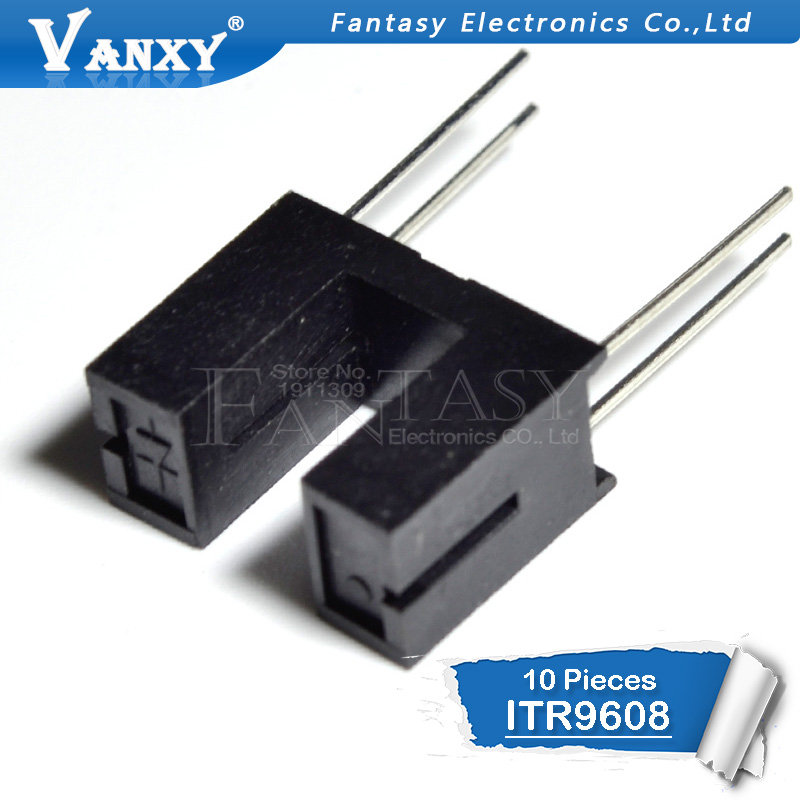 50PCS ITR9606 ITR-9606 DIP-4 OPTO Switch Coupler Everlight Trough Type Sensor
