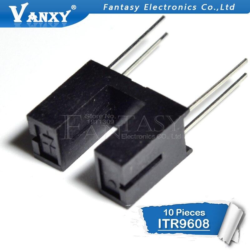 10pcs ITR9608 ITR-9608 DIP-4 Opto Photo Interrupter Optical Sensor DIP4 Best Quality New