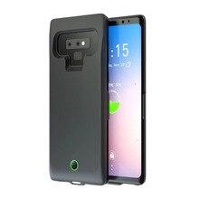 Power bank 7000mah портативное зарядное устройство Внешняя батарея зарядная батарея чехол для samsung Note 9