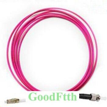 цена на Fiber Optic Patch Cord Jumper ST-LC LC-ST Multimode OM4 Simplex GoodFtth 20-100m