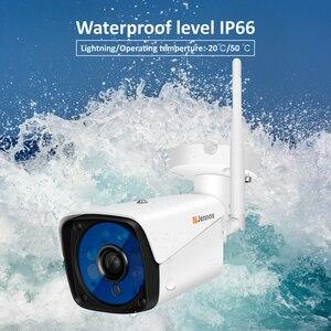 Image 2 - Jennov 4CH 5MP אודיו וידאו מעקב אלחוטי NVR ערכת אבטחת מצלמה מערכת CCTV סט H.264 + WiFi HD חיצוני IP מצלמה IP66