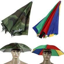 Открытый Женщины Мужчины камуфляж головные уборы зонтик шляпа camo складной солнцезащитный крем Рыбалка шапка для кемпинга Пешие прогулки Велоспорт Рыбалка