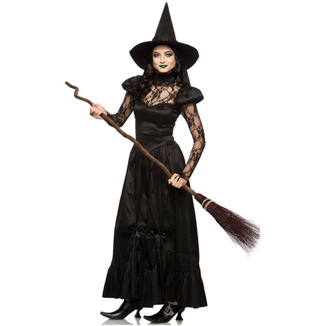 adult Plus witch costumes size