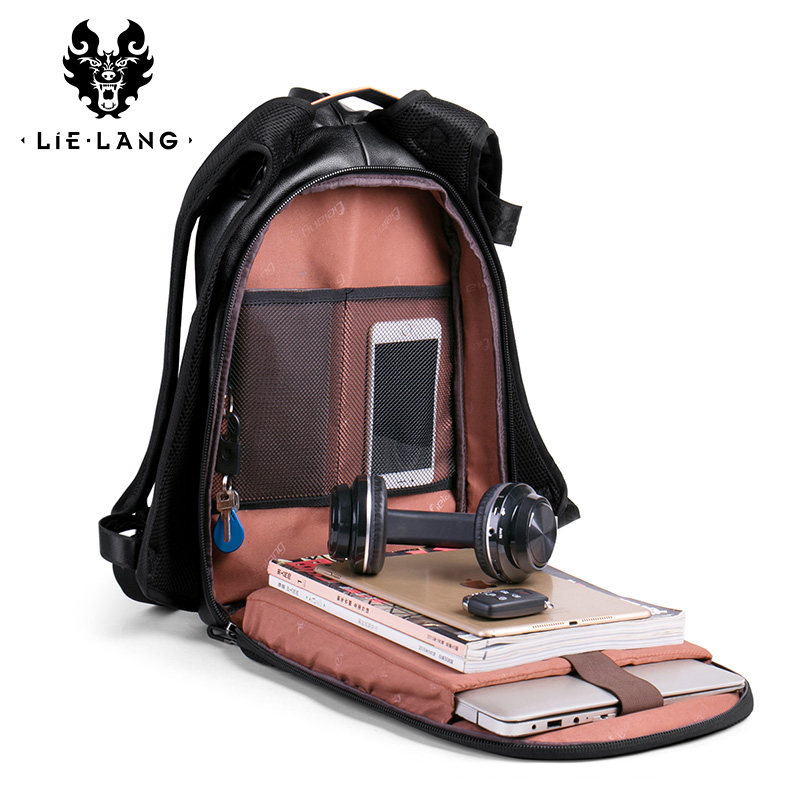 LIELANG Travel Backpack College Computer-Bag Leisure Men's Fashion Student Youth Trend