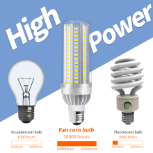 Corn Lamp E26 Light Bulb E27 LED 220V Bombillas 110V High Power 25W 35W 50W No Flicker Lighting 5730SMD