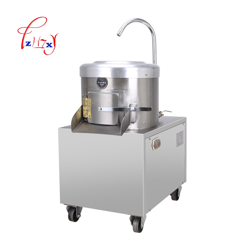 350 KG/H Automatic industrial potato taro peeling/skin removing machine electric Potato Skin Peeler for commercial use 1pc