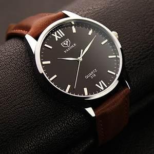 206b67c4e Yazole Brand Luxury Men Leather Sports Watches Wrist Watch