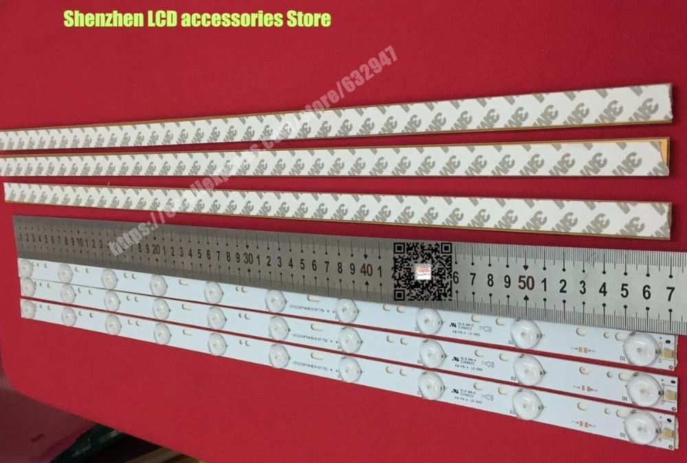 Light Led Tv  D304PHHB01F5B KJ315D10-ZC14F-03 303KJ315031 D227PGHBYZF6A E348423 1PCS=10LED 570mm