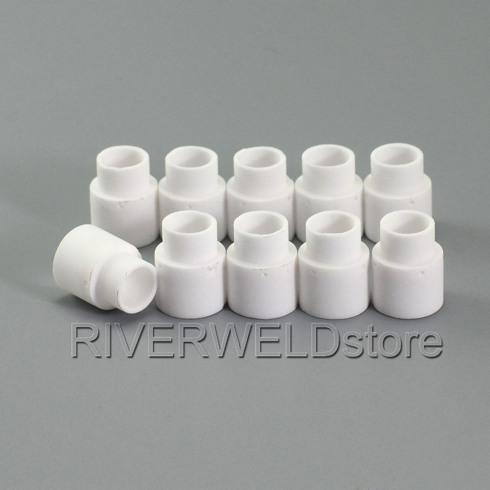 C1510 Swirl Ring Fit Cebora HP041 CP50 CP70 Trafimet CB50 CB70 HY40 Ref No PE0007, 10PK