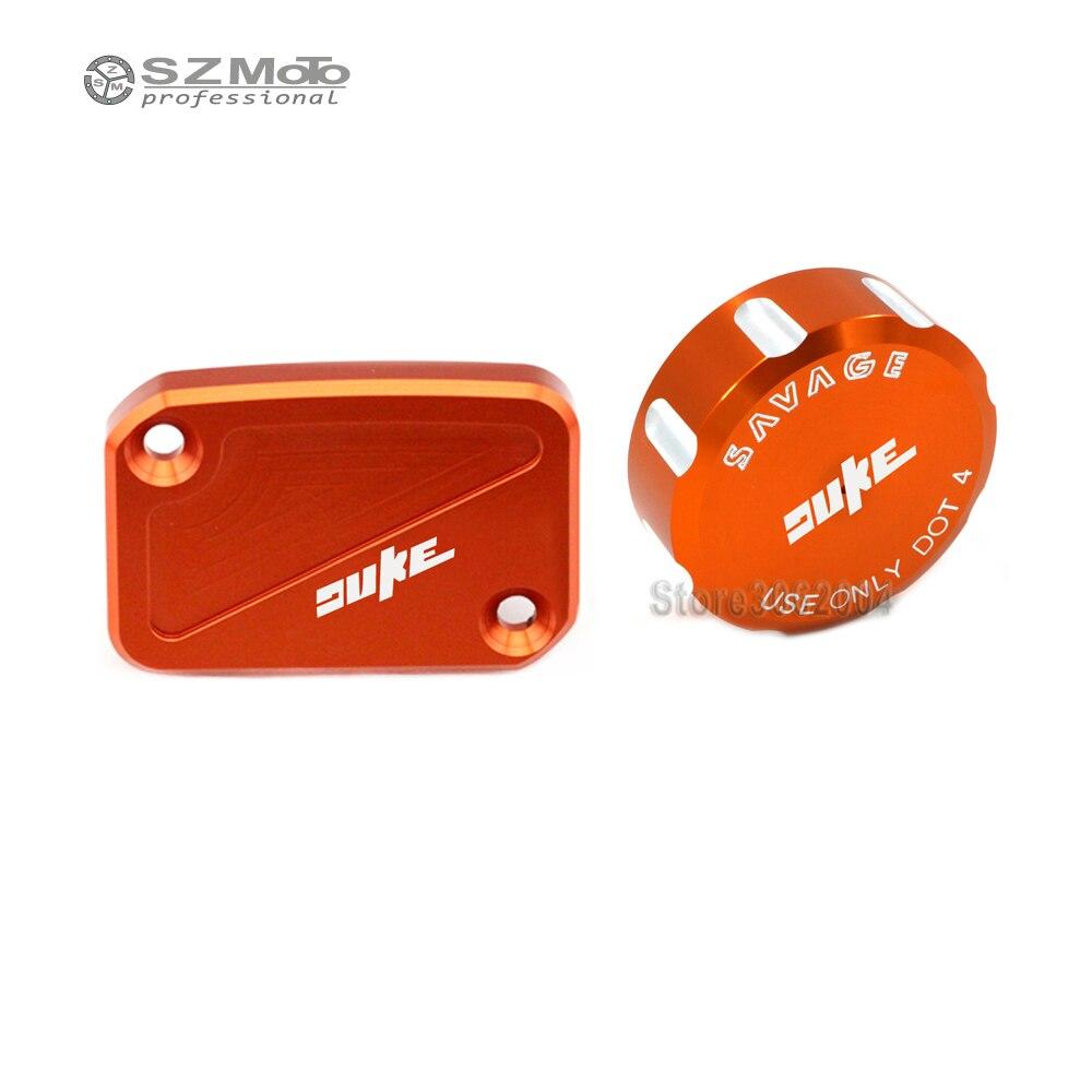 Для KTM DUKE 390 200 125 DUKE390 DUKE200 крышка главного тормозного цилиндра переднего и заднего тормоза резервуар для мотоцикла крышка масляной жидкости