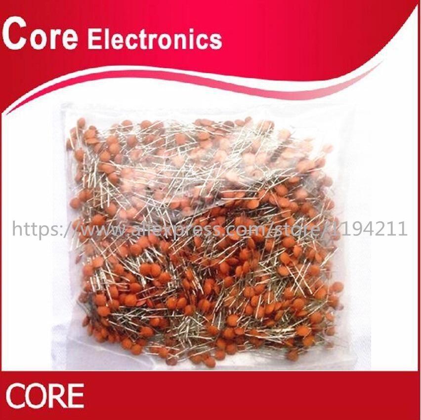 1000 PCS 1nF/50V DIP-2 Ceramic Disc Capacitor(150PF 200PF 220PF 270PF 300P 330P 390P 470P 560P 680P 2.2NF 3.3NF 4.7NF