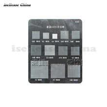 12in1 Multi-funktion IC Chip BGA Schablone Direkt Heizung Reballing Zinn Ball Löten Net für Apple iphone Samsung Mobile telefon(China)