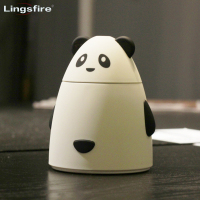 Cartoon Bear Ultrasonic Humidifier Portable Mini USB Air Humidifier Mist Maker USB Aroma Diffuser For Car