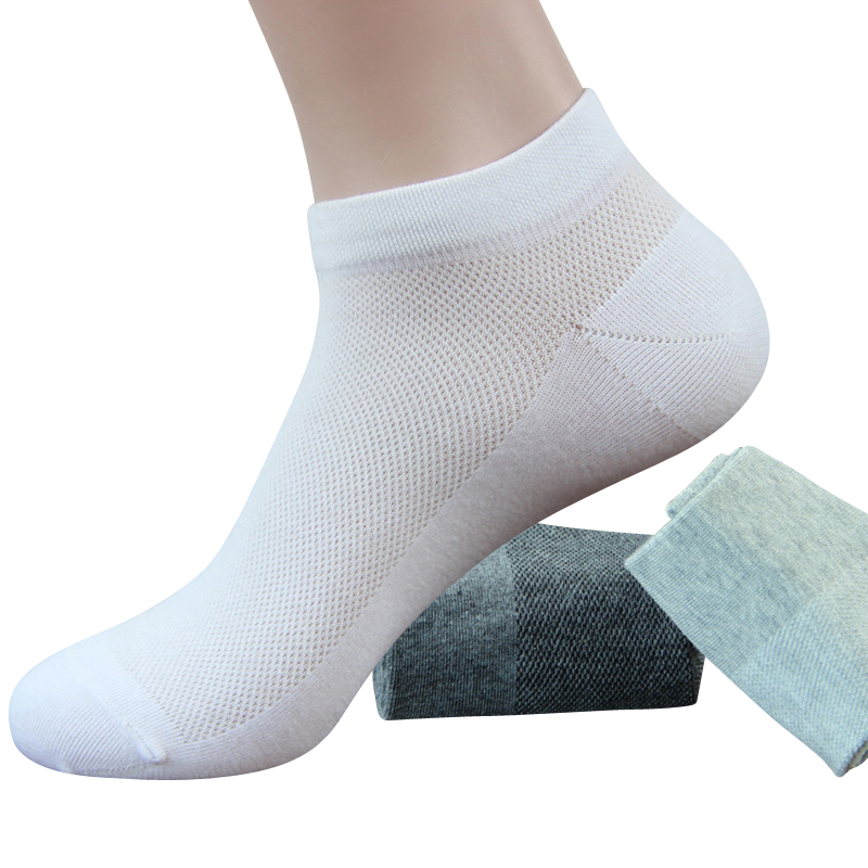 Man Short Socks Comfortable Casual Socks Cotton Men Deodorant Breathable Boat Socks For Male 3pairs/lot Discounts Sale Underwear & Sleepwears
