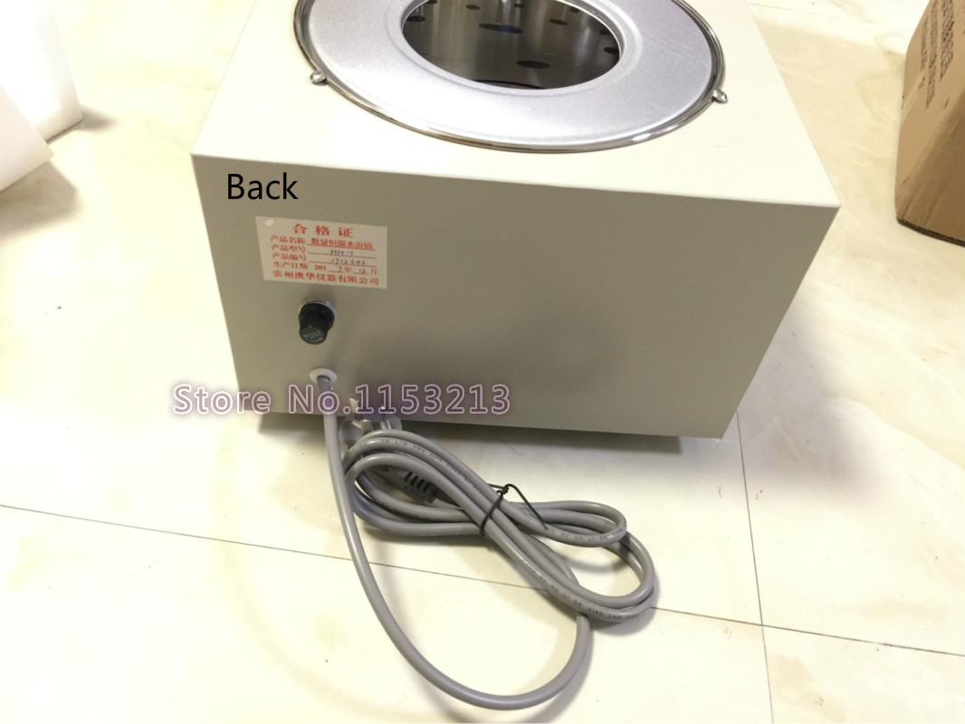 AOHUA Merk HH 1 water bad single gat bad pot digitale thermostaat water bad elektrische water bad Boiler - 5
