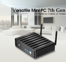 Mini PC Windows 10 DDR3 RAM Mini Computer Desktop Core i7 7500U i5 7200U i3 7100U 4K HTPC TV Box Mini Komputer USB3.0 WIFI