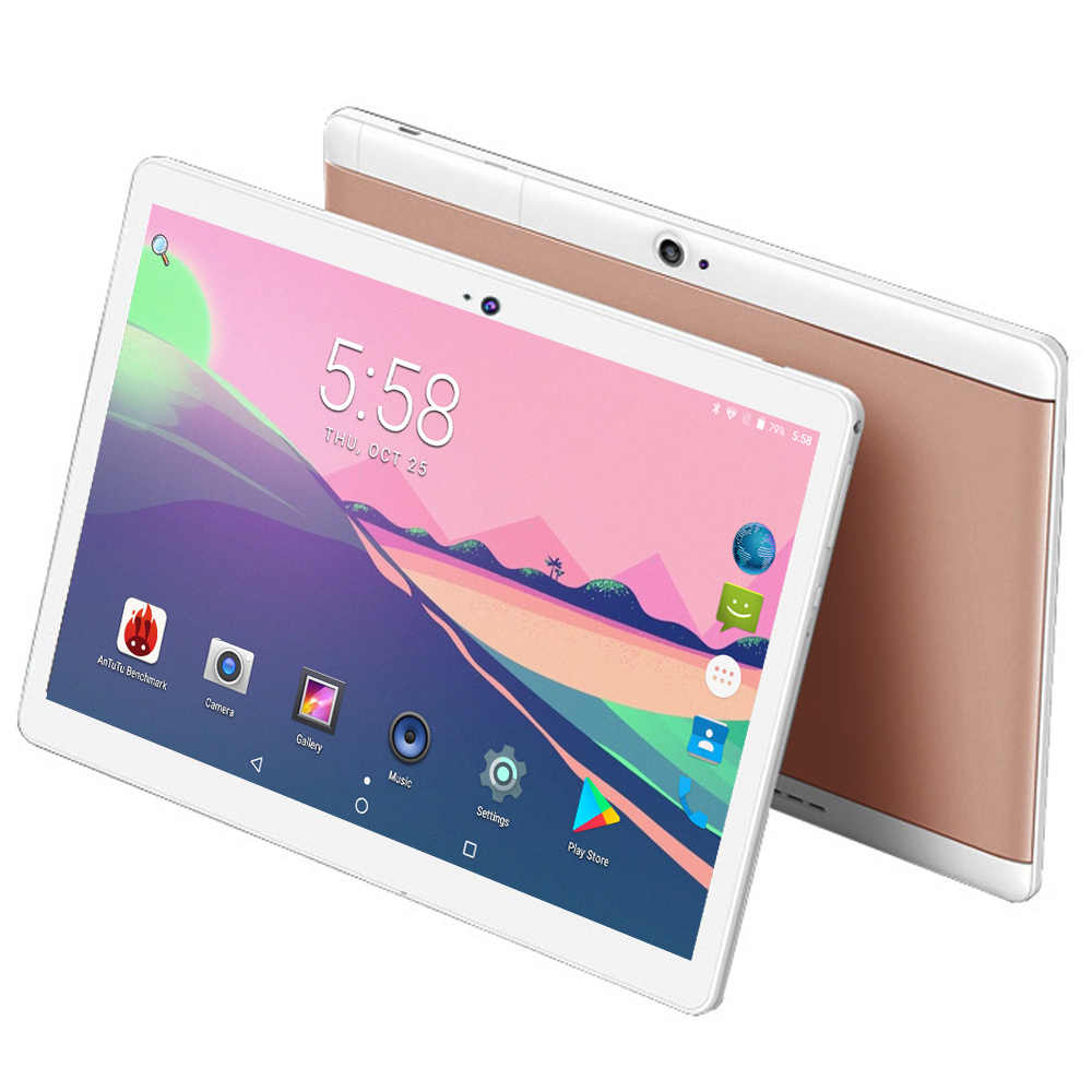10 inch tablet Android 7.0 Octa Core 4GB + 32GB 1280*800 IPS 2 SIM Cards 3G 4G FDD LTE Phablet Wifi GPS Tablets 10 Free Gifts