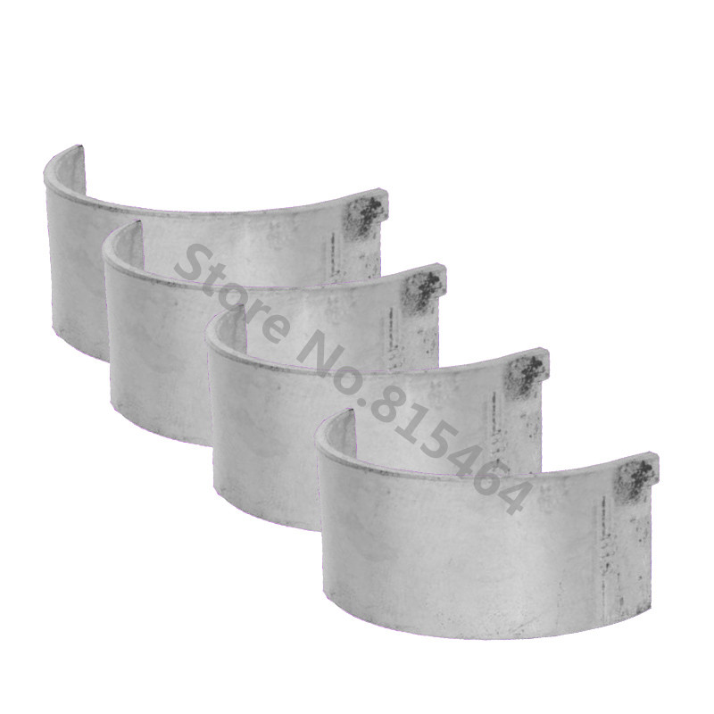 4 PCS/Set Motorcycle STD Connecting Rod Bearing Tiles CNC ...