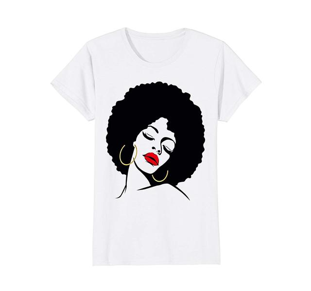 fea22172 Black Girl Magic Shirt Natural Hair Afro Gold Red Lips Sexy Top Quality  Cotton Casual Men T Shirts Men Free Shipping